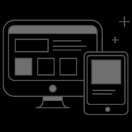 Web Design Icon.