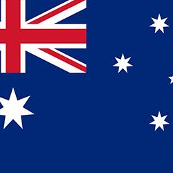 Australia Flag Icon.