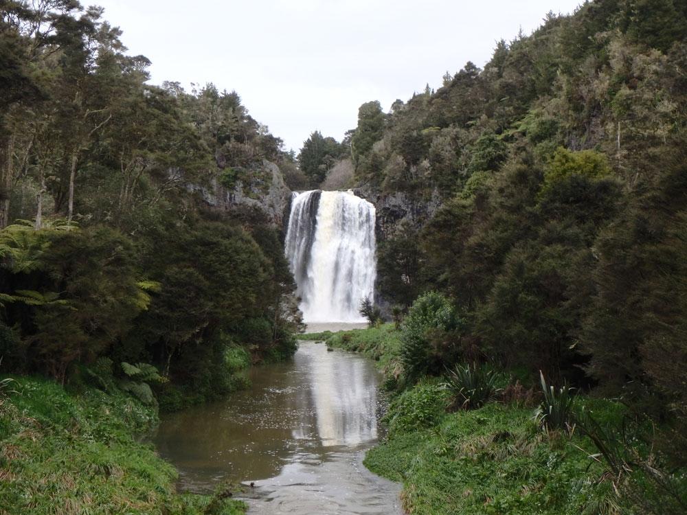 Hunua Falls.