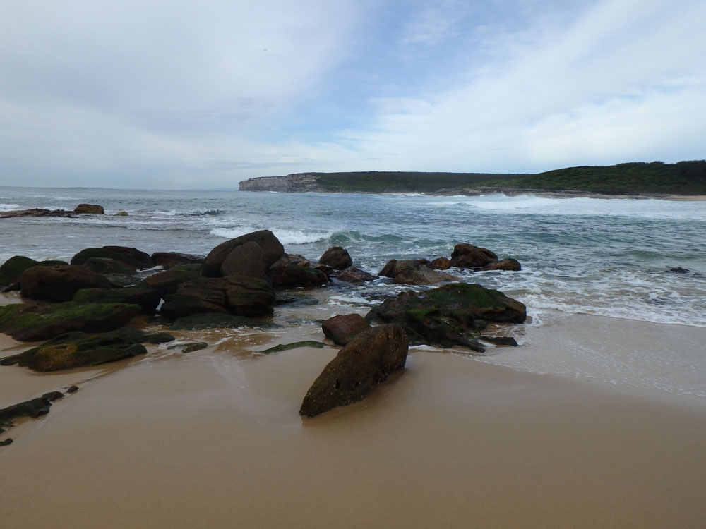Beach in Royal National Park, Australia.