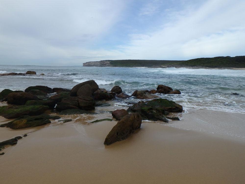 Beach in Royal National Park, Australia.