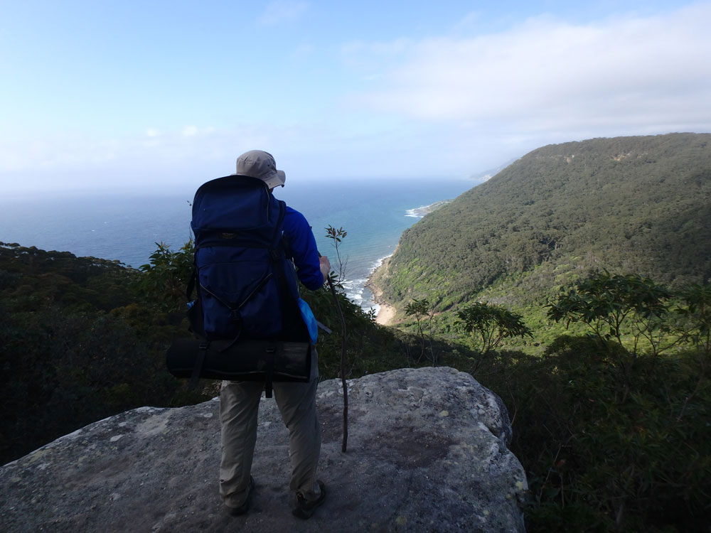 Overlooking Royal National Park.