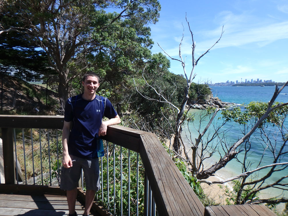 Tim near Watsons Bay.