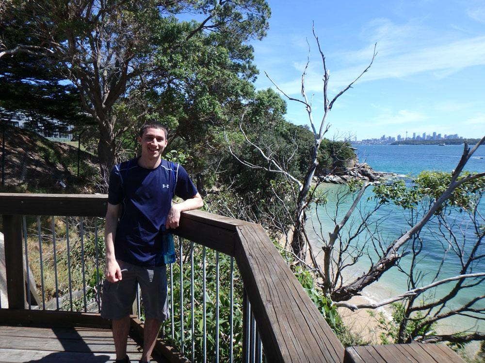 Tim near Watsons Bay.