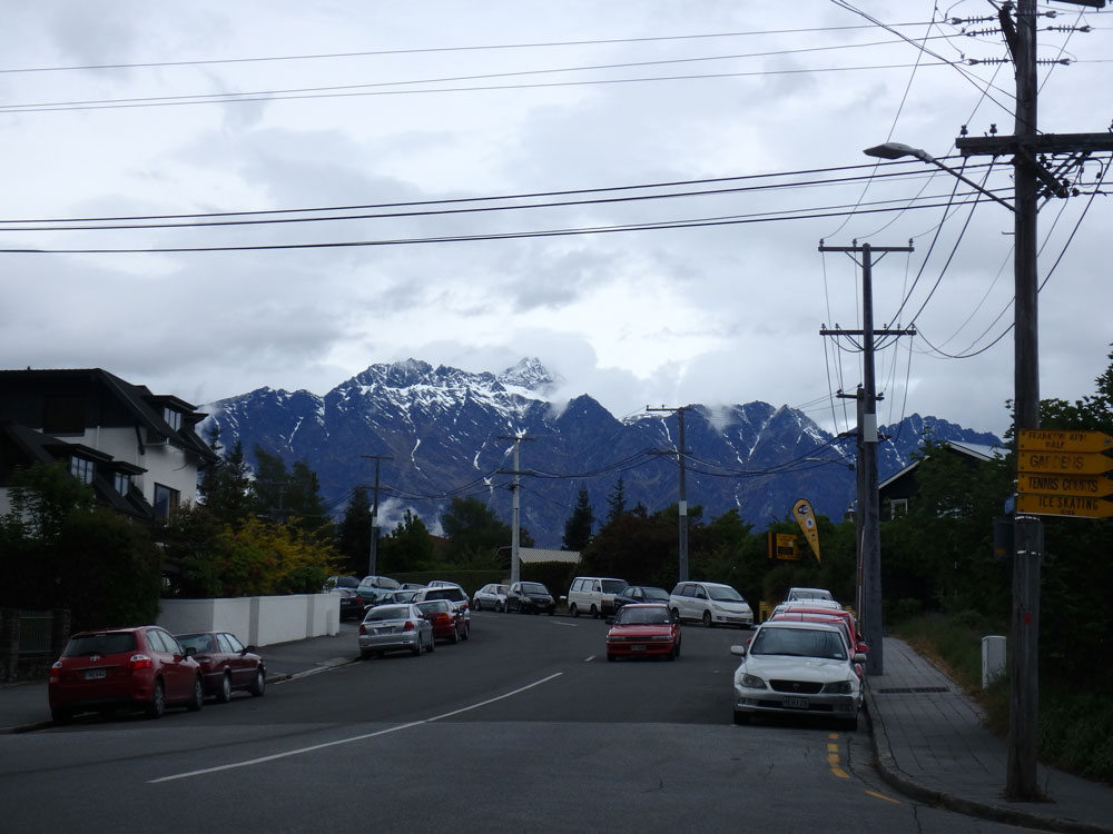 The Remarkables in Queenstown.