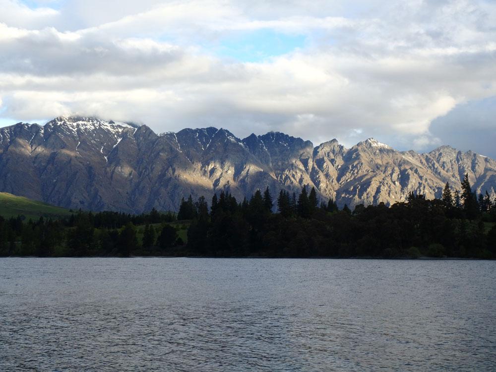 The Remarkables Mountains.