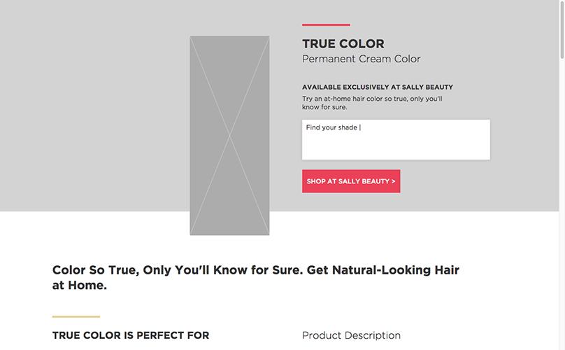 True Color Screenshot.