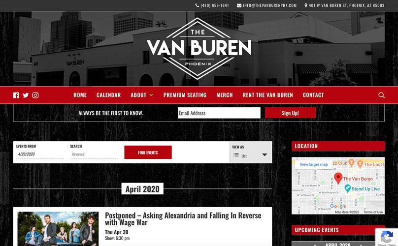The Van Buren Screenshot.
